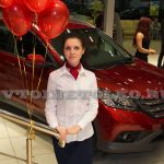 Презентация нового Honda CR-V в автосалоне «Хонда Отрадное»
