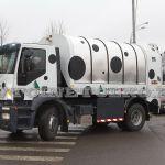 Новый роторный мусоровоз на шасси IVECO