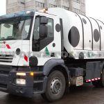 Впервые в России: роторный мусоровоз Kaoussis на шасси IVECO Stralis