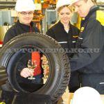 Первая российская шина Континенталь выпущена в Калуге