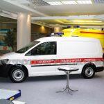 Машины скорой помощи Сикар на выставке «Здравоохранение-2012»