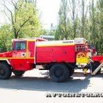 Пожарные автомобили совместной разработки Sicar и ACMAT