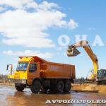 Первый российский карьерник и 100-тонный автопоезд завода Тонар