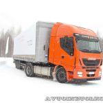 Оранжевая революция на Дмитровском автополигоне: презентация нового IVECO Stralis