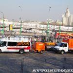 Доркомэкспо-2013: машины для контроля состояния дорог и нанесения разметки
