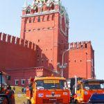 Доркомэкспо-2013: комбинированные и подметальные машины для уборки дорог