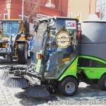 Доркомэкспо-2013: коммунальные машины на специальном шасси