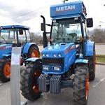 Концерн «Тракторные заводы» представил первый в России трактор на метане