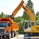 Тест-драйв новых строительных автомобилей Scania