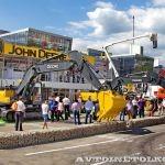 Новинки John Deere на российском рынке строительной техники