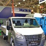 Примерка новых кузовов: ГАЗель NEXT на СТТ-2013