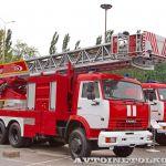 Яркий дебют на «Комплексной безопасности»: пожарные автомобили из Екатеринбурга