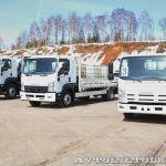 Новые грузовики Isuzu на российском рынке