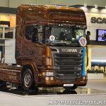 Черный Янтарь для скоростных магистралей: Scania на COMTRANS