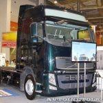 Первый российский седельник Volvo с газовым двигателем