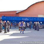 Выездное совещание Минсельхоза Московской области на заводе Тонар