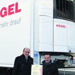 Рефрижераторные полуприцепы Kögel сертифицированы для перевозки медицинских препаратов