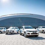Заключительная партия машин Фольксваген передана Оргкомитету зимней Олимпиады в Сочи