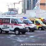 Здравоохранение-2013: автомобили скорой помощи