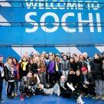 Илья Авербух провел в Сочи генеральную репетицию «Живого медального зачета» на стенде «ФОЛЬКСВАГЕН Груп Рус»