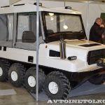 ООО Механика представила колесный вариант снегоболотохода Медведь