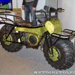 Наш ответ Америке: новый российский мотоцикл-вездеход Тарусь
