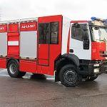 Новая пожарная автоцистерна на базе IVECO Trakker