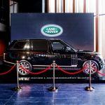 Компания Jaguar Land Rover представила в России новый Range Rover c удлиненной колесной базой