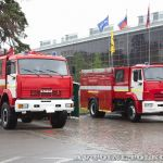 Пожарные автомобили Великолукского завода Лесхозмаш