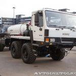 Новое полноприводное шасси КрАЗ на выставке СТТ-2014