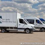 Мерседес Спринтер в Крылатском: парад кузовов российских производителей