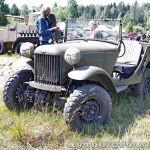 Прототип горьковского «козлика» на слёте Моторы Войны