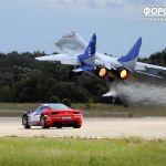 Впервые в мире: авто-авиа шоу Форсаж в Жуковском