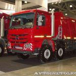 Новые грузовики Мерседес для строительной отрасли
