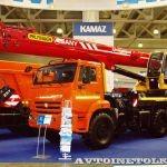 КамАЗ планирует выпускать китайские автокраны