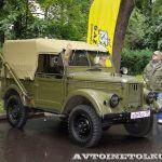 Одна из профессий ГАЗ-69: передвижная коротковолновая радиостанция Кедр Р-104АМ