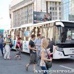 «Группа ГАЗ» приняла участие в ретропараде, посвященном 90-летию начала автобусного движения в Москве