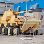 Уралвагонзавод показал на ТВМ-2014 макет новой бронемашины Атом
