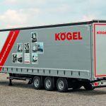 Kögel Mega с гибридным быстродействующим затвором