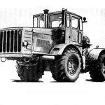 Справочник «Краткие технические характеристики советских тракторов 1965»