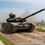 В Алжире началось производство танка Т-90