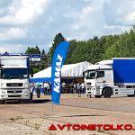 Новый КАМАЗ с компонентами Daimler: менуэт на Дмитровском полигоне