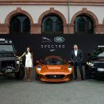 Мировая премьера автомобилей Jaguar и Land Rover, участвовавших в съемках нового фильма о Джеймсе Бонде