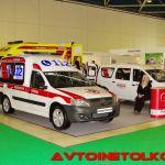 Здравоохранение-2015: ГАЗель NEXT ЦМФ и Лада Ларгус в медицинской ливрее