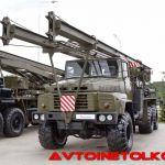 Полноприводный КрАЗ— последние машины в армии России