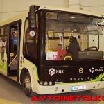 Российские нанотехнологи получили награду в Париже за автобус Modulo