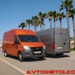 Цельнометаллический фургон ГАЗель NEXT во всех подробностях