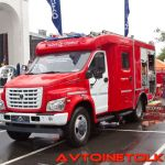 Первый пожарный ГАЗон NEXT крупным планом