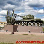 Памятник саперному танку в Нахабино