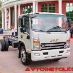 В России стартовали продажи нового 12-тонного грузовика JAC N120